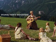 Anyway, here's Wonderwall.