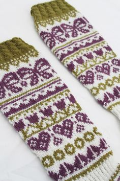 Wool Socks, Knitting Socks, Cross Stitch Bookmarks, Mittens, Needlework, Knit Crochet, Projects To Try, Fashion Accessories, Crochet Patterns