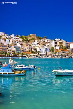 Without a doubt, #Crete is the largest island among all the #Greek #islands like Corfu, Samos, Santorini, Mykonos, etc. The place offers yummy Greek food and oodles of beautiful scenery. Book your visit to the beautiful island now and enjoy your journey to the amazing island at lowest airfares with us. International Flight Tickets, Book Cheap Flight Tickets, Book Cheap Flights, Creta, Greece Vacation, Samos, Crete Greece, Airline Tickets, Beautiful Places To Visit