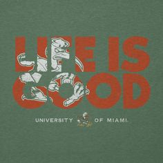 Men's Miami Life is Good Cool Tee