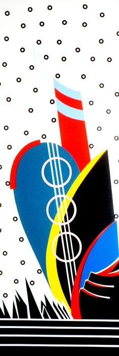 Memphis Milano Style 80's Memphis Art, Memphis Milano, Memphis Design, 1980s Design, Memphis Pattern, Star Art, Mural Art, Artwork Design, Graphic Illustration