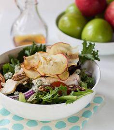 Copycat Panera Fuji Apple Chicken Salad and Fuji Apple Dressing