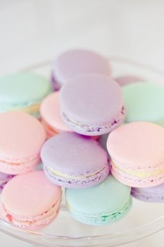Pastel Colours macarons