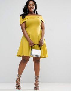 0ec2c5f7d8 Discover Fashion Online Plus Size Skater Dress