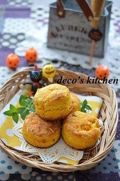 かぼちゃとメープルチップの、おからスコーン ~翌日おなかスッキリ!美肌にも~♪|レシピブログ