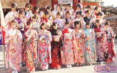 AKB48 , SKE48 and NMB48. It is their coming-of-age ceremony today! SO BEAUTIFUL! and Congratulations!