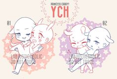 """""""Ych means Your character here."""". price$25 each SLOT 1. 
