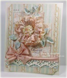 I love Linda Duke❤ : fabulous scrapbook cover !