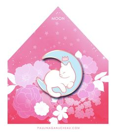 Image of Moon Enamel Pin