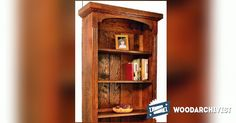 Tall Bookcase Plans - Furniture Plans and Projects | WoodArchivist.com