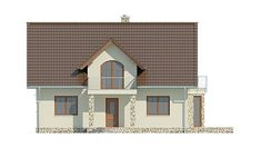 Projekt domu LK&731 Three Bedroom House Plan, Home Design Plans, Larp, Home Fashion, Sweet Home, House Design, Mansions, House Styles, Model