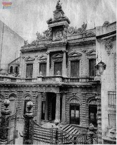 casa de Dardo Rocha, calle Lavalle 835 , demolida en 1973, arq. Jules Dormal posiblemente