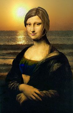 Modern Mona Lisa by Bethers-in-a-tree