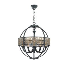 Eurofase Lighting 19368 Traditional / Classic 5 Light Arsenal Chandelier from the Classics Collection