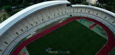 Prima inaugurare a stadionului a avut loc in 1911 si avea o capacitate de 1.500 de locuri. #aerialview #clujarena