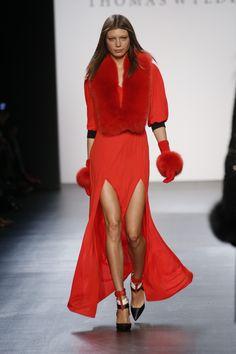 Thomas Wylde Fall/Winter '16 at New York Fashion Week. #NYFW