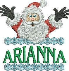 f83ce7ca74f51 Surprise Santa Name - Arianna
