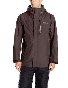 Columbia Mens Lhotse II Interchange Jacket New Cinder Large >>> Continue to the product at the image link. (This is an affiliate link) #MensSkiingClothing