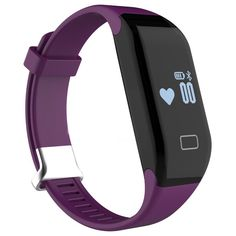 Kids Fitness Tracker, Pard Heart Rate Monitor, Smart Bracelet for Android iOS Smartphones, Purple. Smart Design. OLED touch screen, Detachable watchband, Life waterproof, Intelligent display wake up, Photoelectric heart rate sensor, Mini vibration motor, these features make it a good sport and health fitness tracker. Record your sport, Built-in pedometer keeps track of your daily activities and calculates steps,calorie burned and distance. Movement freely on your wrist to light screen up…