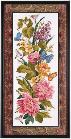 Dreams from the Garden, counted cross-stitch