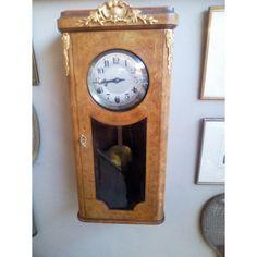 Ρολόι Art Deco Γαλλικό FFR Morbier Paris Clock, Paris, Antiques, Wall, Vintage, Home Decor, Art Deco, Watch, Antiquities