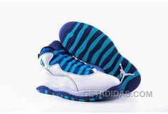 "2c5ce4f3d83 2016 Air Jordan 10 ""Charlotte Hornets"" White/Concord-Blue Lagoon-Black Super  Deals Y8SEKe, Price: $92.00 - Adidas Shoes,Adidas Nmd,Superstar,Originals"