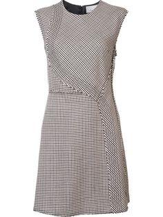 Купить 3.1 Phillip Lim платье в ломаную клетку без рукавов в Knit Wit from the…