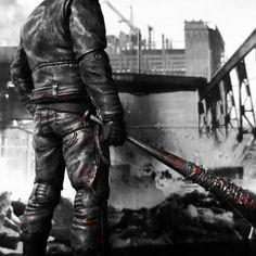 Negan (the bastard who killed someone who we don't know) #TWD
