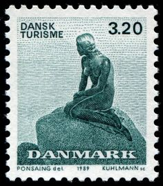 The Little Mermaid, issued by Denmark in 1989