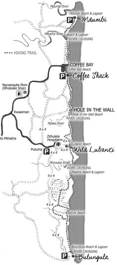 Hiking Trails, South Africa, Draw, Adventure, Beach, Nature, Naturaleza, The Beach, To Draw