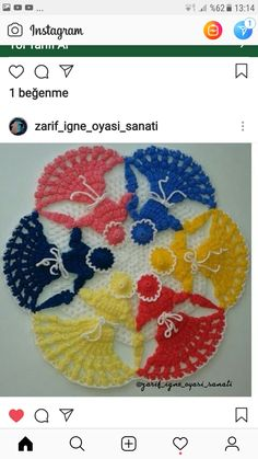 Crochet, Instagram, Crochet Crop Top, Chrochet, Knitting, Haken, Quilts, Hand Crochet, Ganchillo