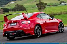 Toyota 86 GTS Aero Pack Pictures