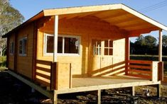 Simple cabin with everything you need : Cabin Life - Affordable Housing Deluxe Granny Flat - Portable Cabins 2013