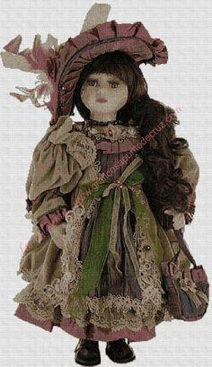 Cross Stitch Cushion, Victorian, Punto De Cruz, Cross Stitch Boards, Crocheting, Goblin