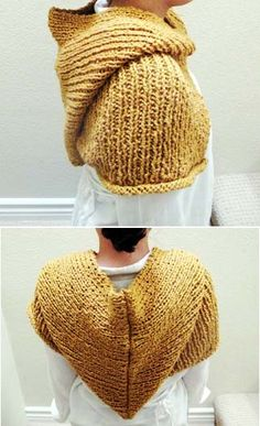 i should get a hood for colder SCA events  #sca -I could use my knifty knitter to make this