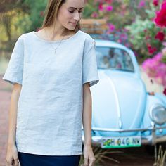 Complete your summer wardrobe by adding this shirt to your summer collection.This shirt features a short sleeve and round neck Summer Wardrobe, Summer Collection, Short Sleeves, Shirts, Tops, Women, Fashion, Moda, Women's