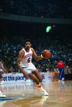 Julius Erving of the Philadelphia 76ers  1983..