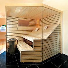 People have been enjoying the benefits of saunas for centuries. Spending just a short while relaxing in a sauna can help you destress, invigorate your skin Diy Sauna, Saunas, Sauna For Sale, Building A Sauna, Portable Sauna, Sauna Design, Steam Sauna, Sauna Room, Modern Bathrooms