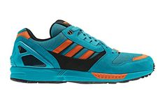 adidas Originals ZX 8000 – Lab Green / Black / Craft Orange