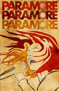 Hey, I found this really awesome Etsy listing at https://www.etsy.com/listing/161606404/paramore-poster-limited-edition-of-100