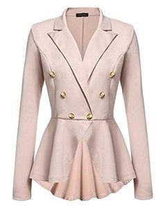 8f37a6990 28 Best Peplum blazer images in 2019 | Jackets, Dressing up, Clothing