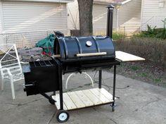 home built offset BBQ