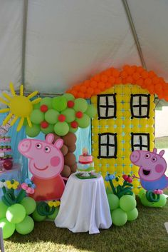 Peppa Pig Birthday Party Ideas | Photo 1 of 41 | Catch My Party