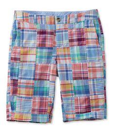 Washed Chino Bermuda Shorts, Patchwork