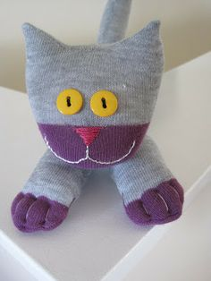How to make a sock cat | The House of Meow