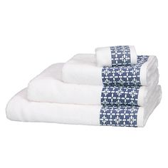 Buy John Lewis Leckord Ditton Border Towels Online at johnlewis.com