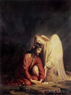 The Agony in the Garden - 54 Paintings of the Passion, Death and Resurrection of Jesus Christ