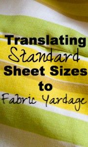 This is my go-to reference anytime I want to craft with a vintage sheet.