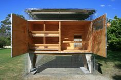 AND_Studio: Origami Coop by Chris Mullaney
