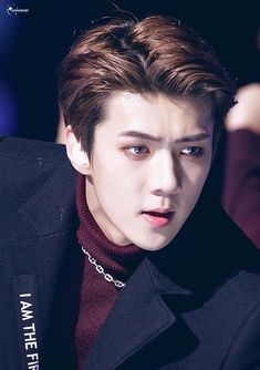"Exo - Sehun ""Sexy as only he can be"" Exo Ot12, Chanbaek, Saranghae, Chanyeol, Sehun And Luhan, Rapper, Kim Minseok, Exo Korean, Exo Members"